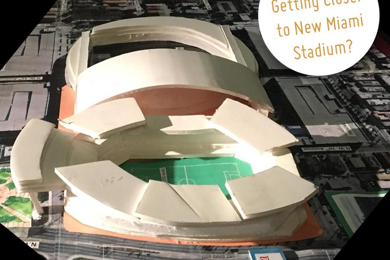 Beckham Getting Closer to New Miami Stadium?