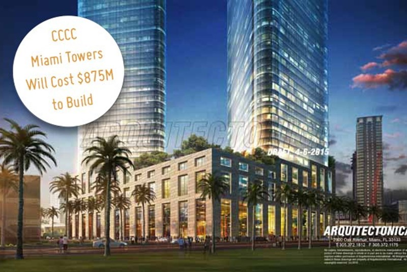 Almost Half of New CCCC Miami Towers Funding May Come from EB-5