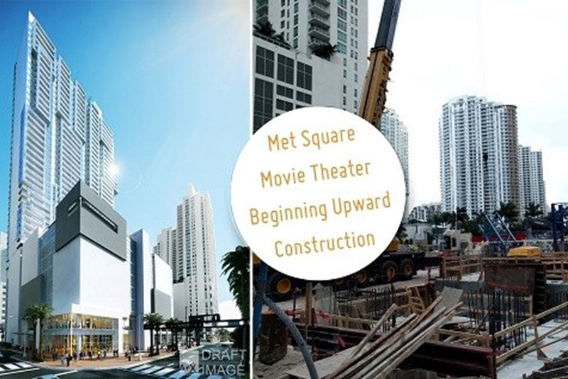 Downtown's Met Square Movie Theater Begins Upward Construction