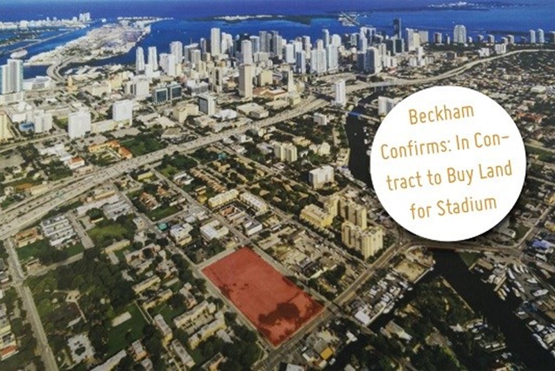 David Beckham Finally in Contract to Purchase Land for Soccer Stadium