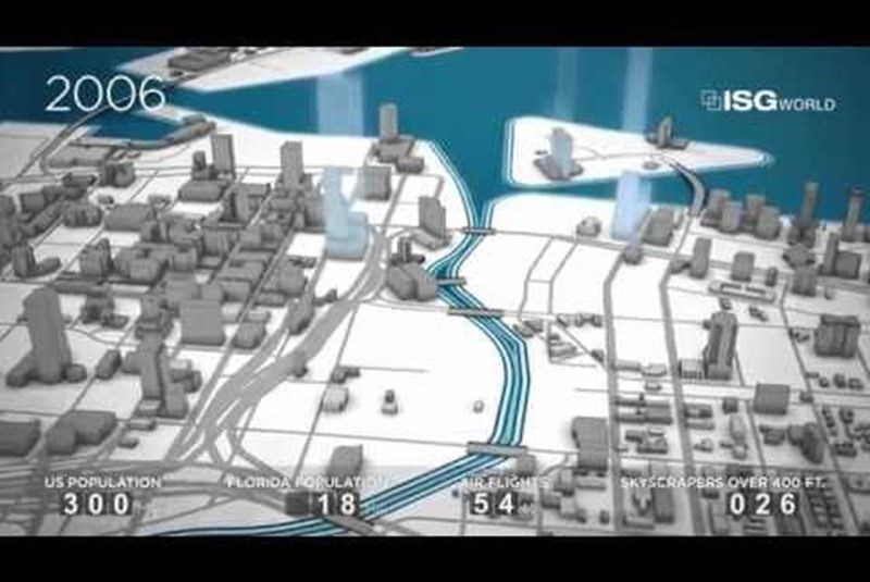 Watch Miami Evolve From Swampland to Massive Metropolis in 2 Minutes