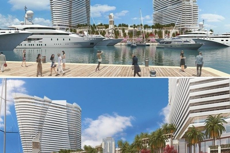 Island Gardens Ground Work Commences for Two Hotels and Marina