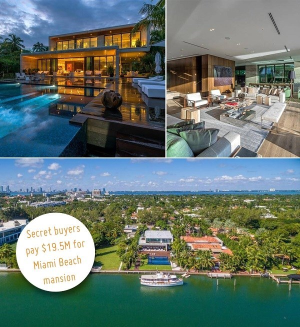 Pine Tree Drive Mansion in Miami Beach Sells to an Anonymous Buyer for $19.5 Million
