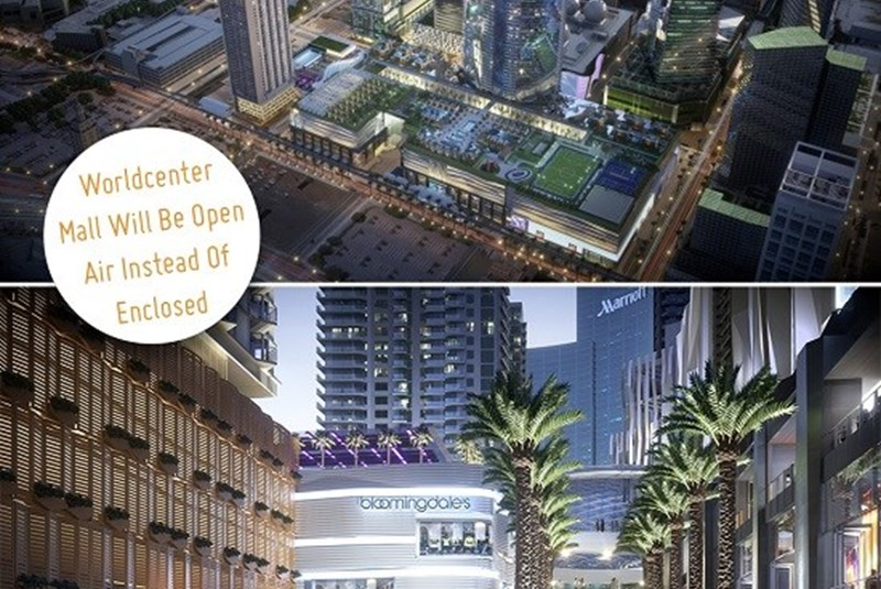 The Mall at the Miami Worldcenter Will Be an Open-Air Project, Instead of an Enclosed One