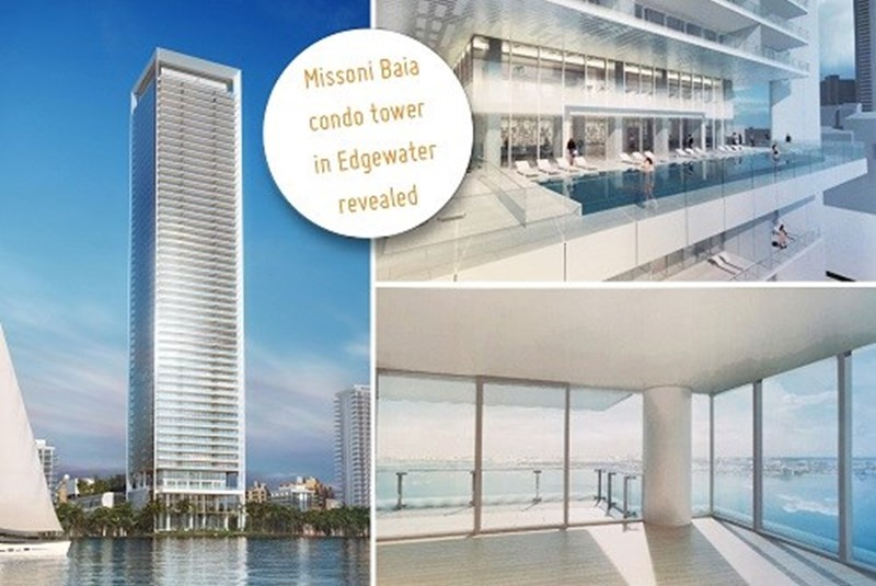 The First Missoni Baia Luxury Tower Renderings Released