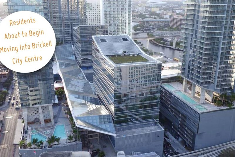 The First Residents of the Brickell City Centre Are Beginning to Move in
