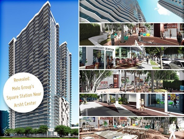 New Massive Apartment Project, Square Station, Coming Near the Arsht Center