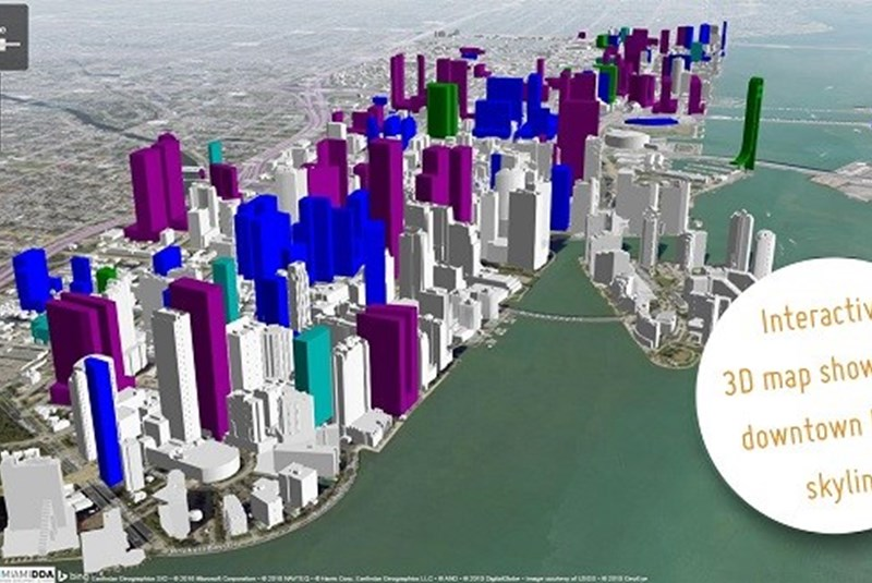 New 3D Map of Downtown Miami Released to Help Visualize Future Skyline