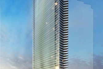 """The Edge"" Tower Makes a Comeback in Brickell, Now Including Hotel and Condo Units"