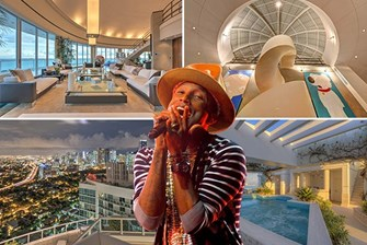 Bidding farewell to Pharrell, Brickell penthouse sold for $9M