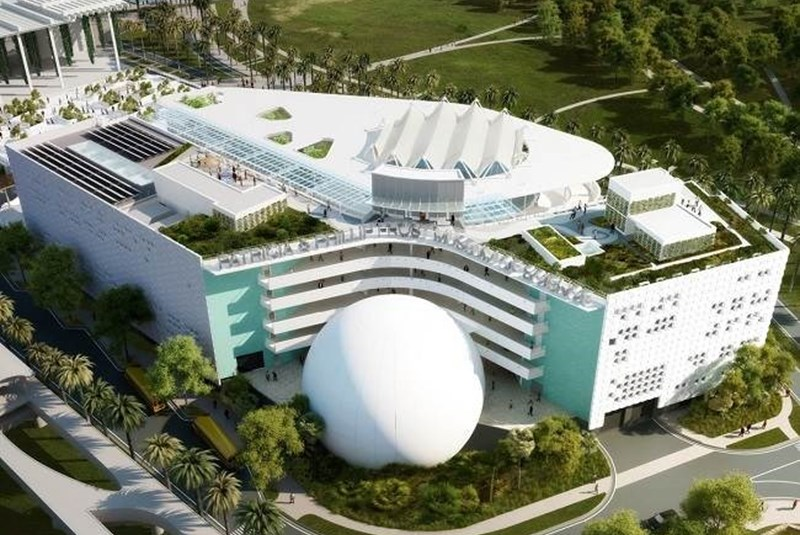 Frost Museum of Science Likely Ready to Debut in Downtown Miami this Spring