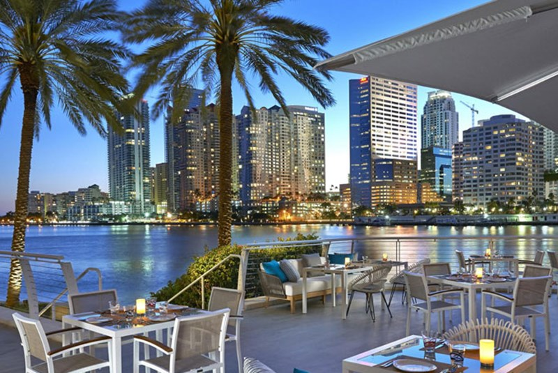 Top High End Water View Restaurants in Miami