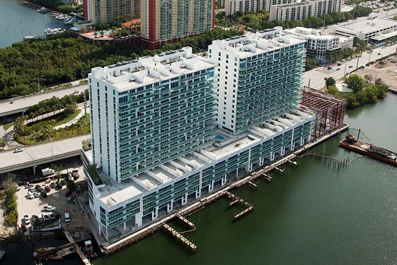Finally a Living Space Exclusively for Water Lovers in the Swanky Sunny Isles!