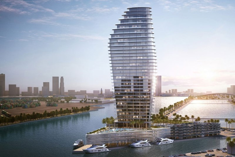 Luxury Condo Project Moving Forward on McArthur Causeway's Terminal Island