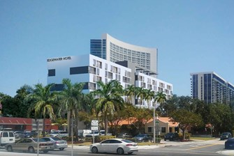 New Hotel Proposed to replace Bentley Edgewater Condo Hotel
