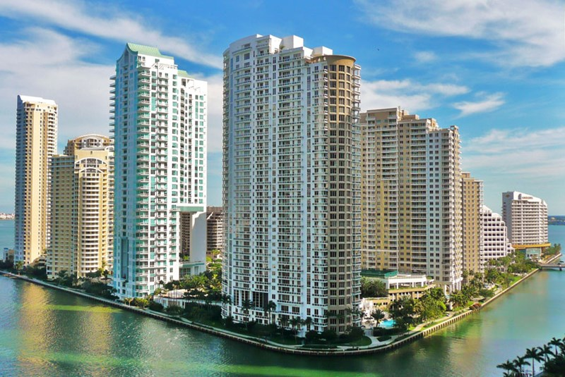 The Most Luxurious Condo Buildings in Brickell Key