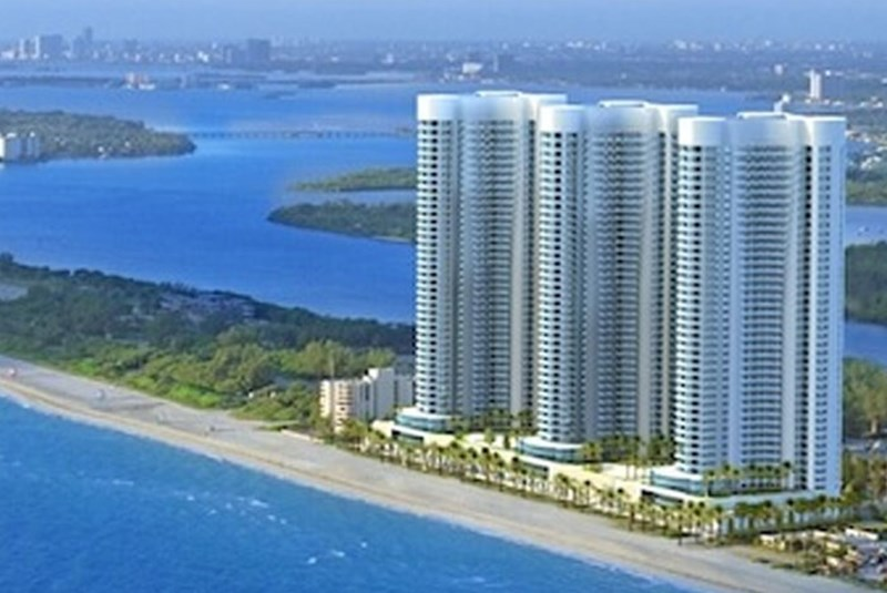 Are Trump's condo building values in South Florida dropping faster than the rest of the market?