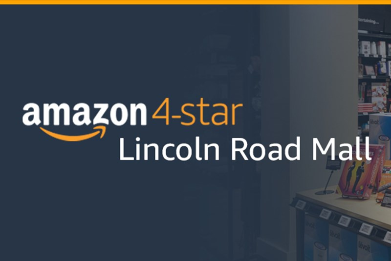 Amazon's 4-Star Lincoln Road Store: Get Ready to Browse, Wishlist & Check Out Happy!