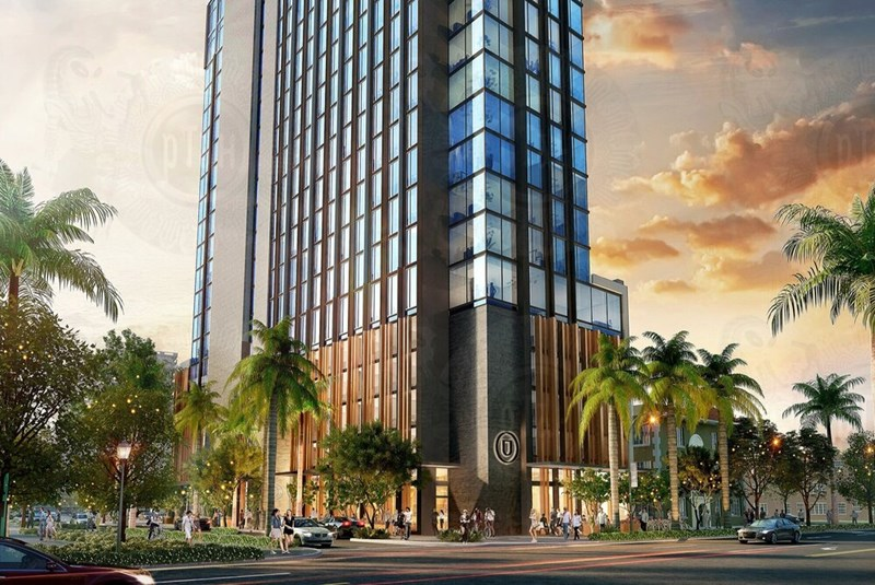 Edgewater Hotel, Retail and Restaurant on the Way