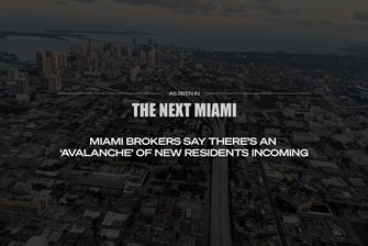 Condo Blackbook in the News: Miami Brokers Say There's An 'Avalanche' Of New Residents Incoming
