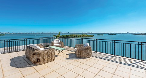 Unique Miami Penthouses: This UES Penthouse with a Huge Private Terrace is a Gem for $2M