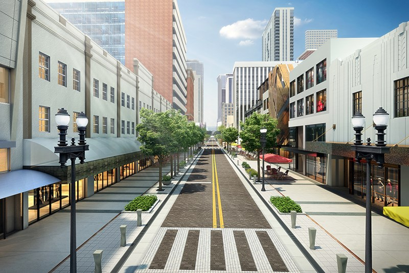 Downtown Miami Revitalization Begins with Flagler Street Makeover