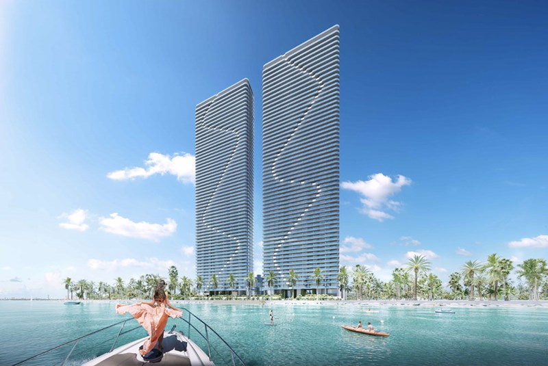 Aria Reserve Miami: Condo Sales Launched for the Tallest Waterfront Twin Towers in the United States