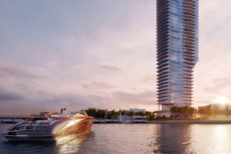 Una: Luxurious, Modern Waterfront Living on South Brickell Avenue